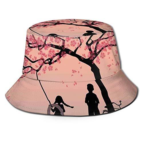 Sombrero de cubo de poliéster, niños en la piscina en la vida boyas natación verano temporada temática personajes de dibujos animados