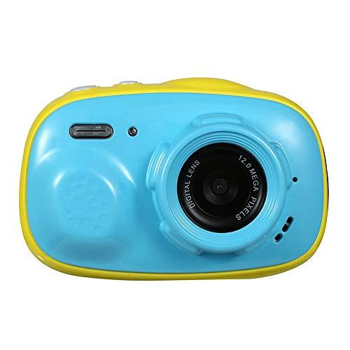 Belleashy Videocámara para niños Childs cámara a Prueba de choques con la videocámara Digital de 2 Pulgadas de Alta definición de Pantalla táctil 3 Colores Gran Regalo for los niños para fotografiar