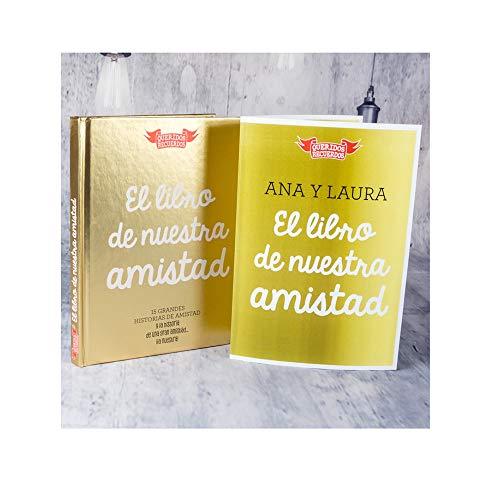 Amigo o Amiga: 'El Libro de Nuestra Amistad' con Tarjeta Personalizada