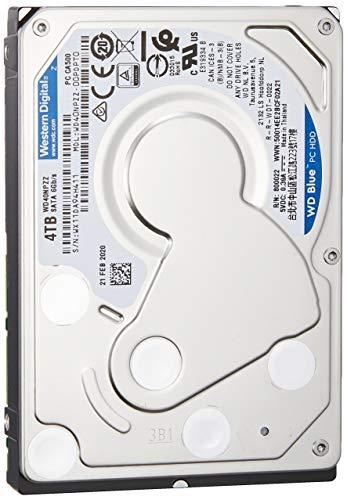 WD HDD 内蔵ハードディスク 2.5インチ 4TB WD Blue WD40NPZZ SATA6Gb/s 5400rpm 2年保証