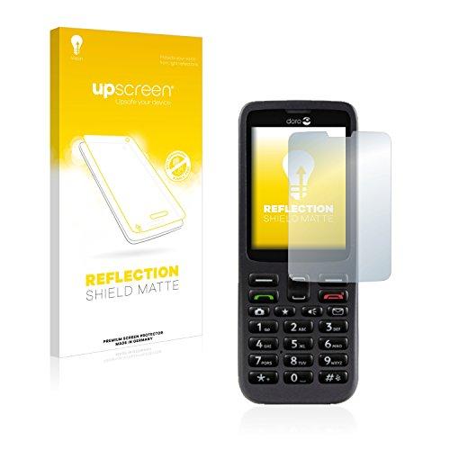 upscreen Entspiegelungs-Schutzfolie kompatibel mit Doro 5516 – Anti-Reflex Bildschirmschutz-Folie Matt