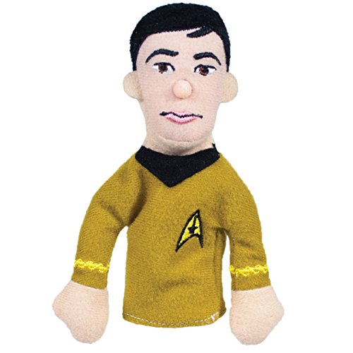 The Unemployed Philosophers Guild Sulu Finger Puppet and Refrigerator Magnet - Original Star Trek - for Kids and Adults