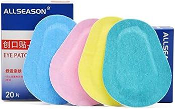 پچ های چسبنده برای بزرگسالان 60PCs / 3Boxes رنگ پریده چسبیده چشم پزشکی پد اشکی استریل پد چسب برای بزرگسالان کودکان