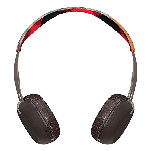 Skullcandy Grind Wireless On-Ear, Auriculares inalámbrico, Bluetooth, Camo/Marrón