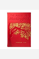Graphic Image to Kill A Mockingbird by Harper Lee Special Edition in Red French Calfskin Leather - Leather Bound