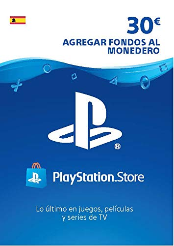 Sony, PlayStation - Tarjeta Prepago PSN 30€ | PS5/PS4/PS3 | Código de descarga PSN - Cuenta española