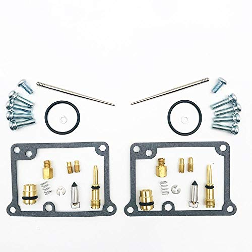Yhdzswb Reparación de carburador de Motocicletas K-IT para Y-Amaha B-ANSHEE Y-FZ350 Y-FZ 350 A-TV 1988-2006
