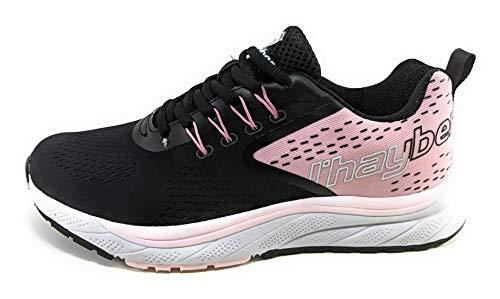 Jhayber Sra V21, Zapatillas de Running Mujer, Black, 39 EU