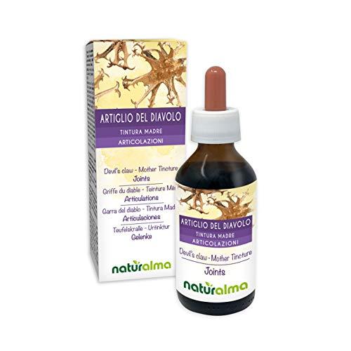 GRIFFE DU DIABLE (Harpagophytum procumbens) racines Teinture Mère sans alcool NATURALMA | Extrait liquide gouttes 100 ml | Complément alimentaire | Végétalien