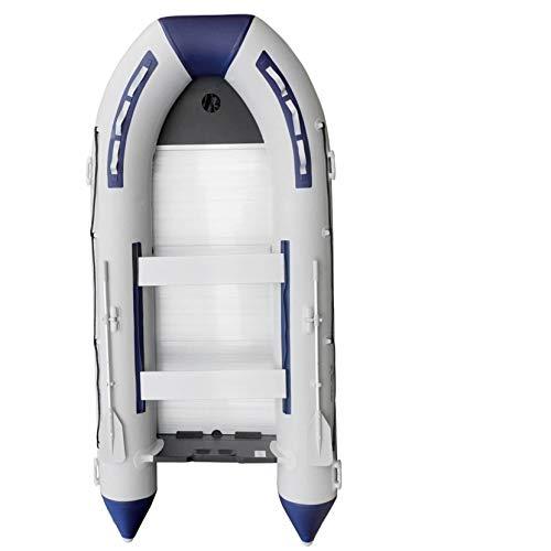 Prowake Schlauchboot TK-RIB380S, 380cm, Alu-Boden, blau/weiß, für 7+1 Personen, motorisierbar bis max. 15PS (Versand-kostenfrei *)