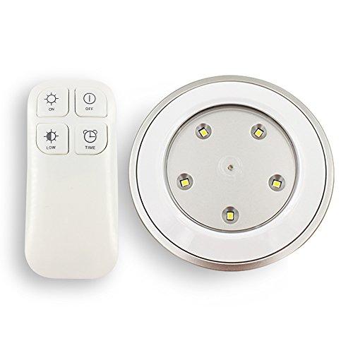 CMB Lichtquelle, kabellose Fernbedienung dimmbar lampe mit Touch-Aktivierterung Sensor für Stauraum und Schrank, Batterieladung per USB Kabel.