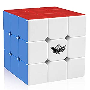 D-FantiX Cyclone Boys 3x3 Speed Cube Stickerless Magic Cube 3x3x3 Puzzles Toys (56mm) from D Fantix
