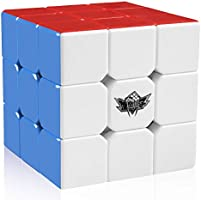 D FantiX Cyclone Boys 3x3 Speed Cube Stickerless Magic Cube 3x3x3 Puzzles Toys (56mm)