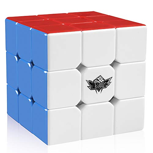 Ceiceili 56mm Cyclone Boys Speed cube 3x3x3 Magic Puzzle Cube Colorful Stickless
