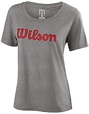 Wilson W Script Cotton tee - Camiseta, Mujer