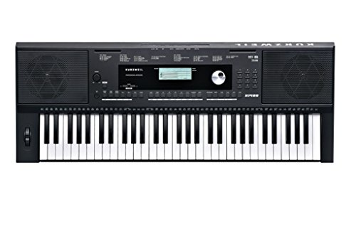 Kurzweil Home KP100 61-Note Portable Arranger Keyboard (KP-100)