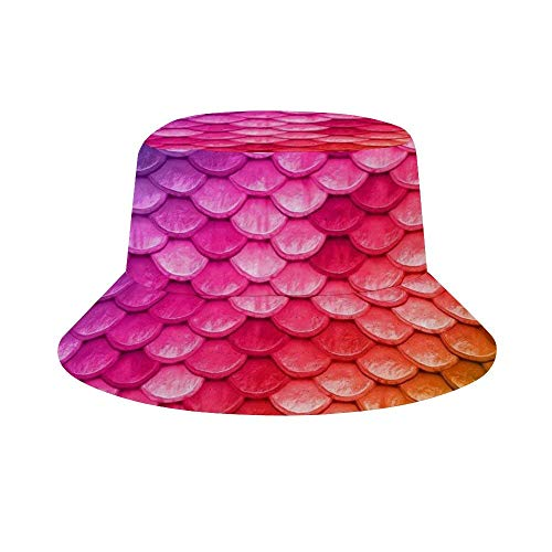 NA Cubo Sombrero Packable Al Aire Libre Camping Pesca Lluvia Safari Boonie Cap Afro Africana Mujer Niña Arte Rosa