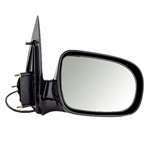 Aftermarket Replacement Passengers Power Side View Mirror Compatible with Venture Relay Silhouette Montana/SV6 Trans Sport Uplander Van