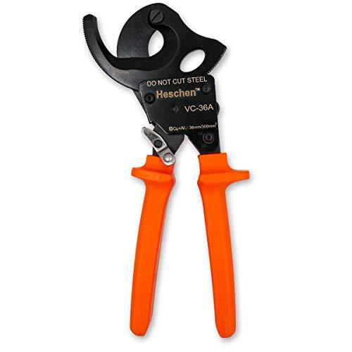 Heschen trinquete cortador de cable VC-36A uso para 36mm / 300mm² alicates...