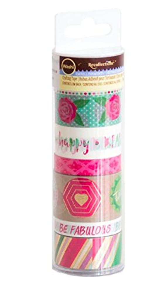 Floral Washi Tape Set by Recollections, Washi Tube, Planner Tapes, Decorative Tape