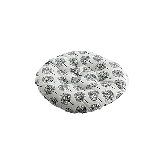 Chair Cushion Back Cushion Seat Cushions - 1/4PCS Nordic Print Round Chair Cushion Cotton Breathable Soft Padded Patio Office Decor Cushions Sofa Pillow Buttocks 40 * 40cm Comfortable Durable