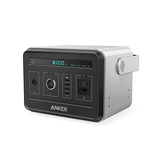 Anker PowerHouse (434Wh / 120,600mAh ポータブル電源) 【PSE認証済 / 静音インバーター / USB & AC & DC...