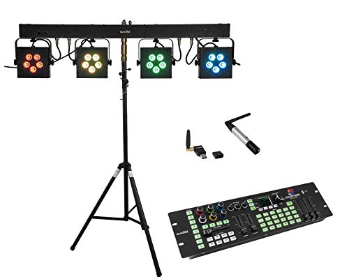 EUROLITE Set LED KLS-902 + Controller + STV-40S-WOT Steel stand