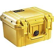 Pelican 1300 Camera Case With Foam (Yellow)