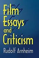 Film Essays and Criticism (Wisconsin Studies in Film)