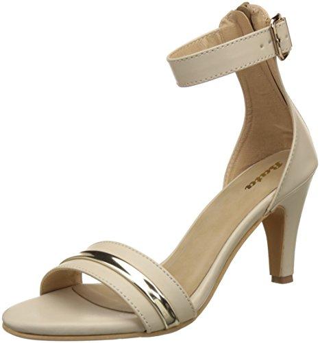 BATA Women's Caillat Beige Fashion Sandals - 5 UK/India (38 EU)