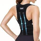 AIRE Back Brace, Posture Corrector for Women and Men,Back Support Straightener, Shoulder Brace With Lumbar Support, Adjustable Breathable Posture Corrector for Improve Posture