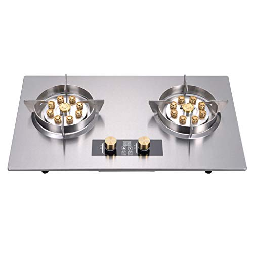 Haushalts-Doppelofen/Desktop Eingebetteter Dual-Purpose-Kochherd/bilateraler unabhängiger digitaler Timing-Entwurf Erdgas-Flüssiggasofen