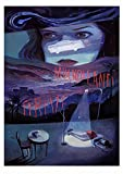 SYKKYS Klassischer Film Mulholland Drive Poster Leinwand