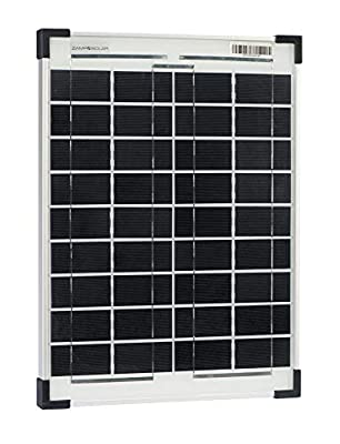 Zamp Solar 20-Watt Solar Panel for Solar Battery Charging to use with Zamp Plug-N-Play Systems