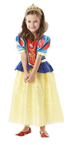 Disney I-884651L - Costume da travestimento, Biancaneve, Taglia L - 7-8 anni
