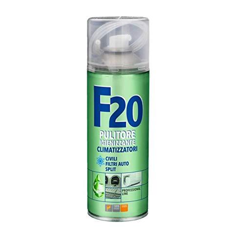 F20 IGIENIZZANTE PER CONDIZIONATORE CLIMA 400 ML CLIMATIZZAZIONE PULITORE CLIMA