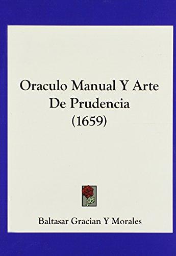 Oraculo Manual y Arte de Prudencia (1659)