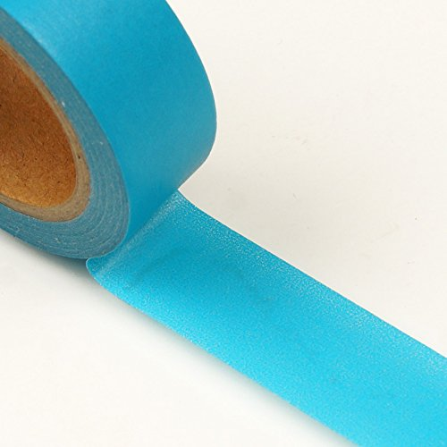 9/16' X 10 Yards Turquoise Standard Solid Washi Tape