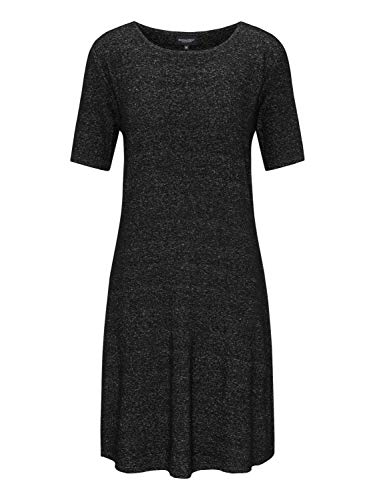BROADWAY NYC FASHION Damen Kleid Sedona Graumeliert S (36)
