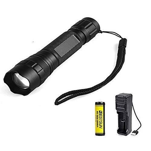 940nm Linterna IR, Linternas de visión nocturna por infrarrojos Zoom capaz Para ser utilizado con dispositivos de visión nocturna (La luz infrarroja es invisible)