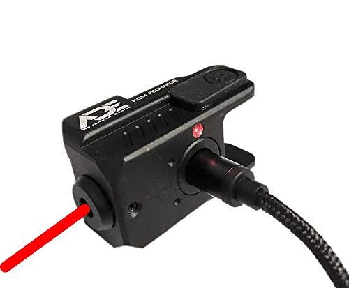 Ade Advanced Optics HG54R Rechargeable Universal Laser Sight, RED Laser for Springfield Hellcat Micro-Compact 9MM Pistol Handgun