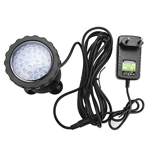 Onderwaterlicht, 3W AC LED onderwaterlicht meerkleurige waterdichte koplamp EU-stekker