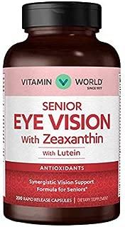 Senior Eye Vision with Zeaxanthin with Lutein