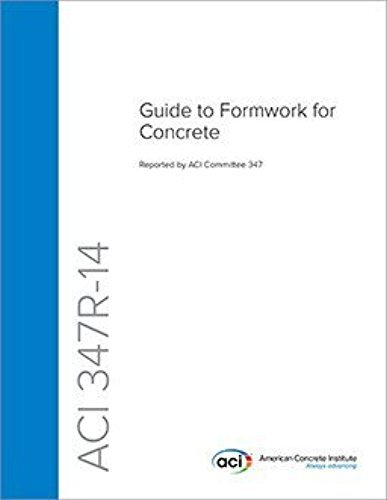 ACI 347R-14, Guide to Formwork for Concrete