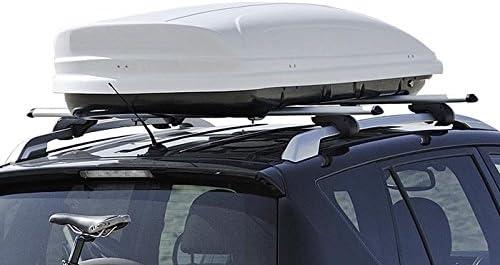 VDP Roof Box 320/Litres Lockable Car Roof Box Black-MAA320