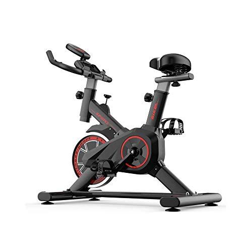 OSN - Cyclette indoor con manubrio regolabile e display a LED per ginnastica e allenamento cardio