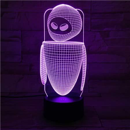 Machine Lampe de Table Chambre décoration capteur Tactile de Bande dessinée Enfants Enfants Gadgets Cadeau Mur Nuit lumière décoration