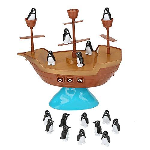 Juego de Equilibrio de Pingüinos y Pingüinos para El Juego de Mesa No Toques El Barco Juegos de Acción para Niños Regalos de Cumpleaños