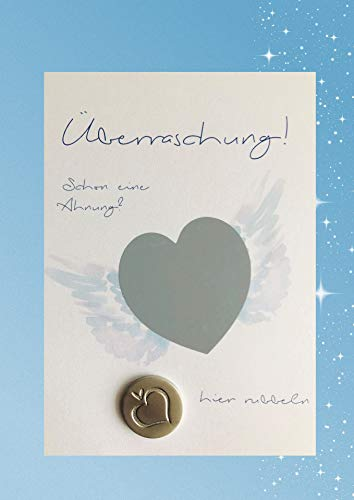 Rubbelkarte Patentante für Jungen + Chip -> Willst du meine Patentante sein ? - Taufe, Geburt, Überraschung, Geschenke für Patentante (Tante/blau)