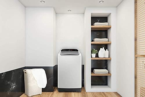 Samsung 6.5 Kg 5 Star Inverter Fully-Automatic Top Loading Washing Machine (WA65T4262GG/TL, Light Grey, Wobble technology) 3